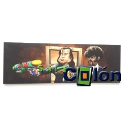 "OFERTA Caricatura ""Pulp Fiction"""
