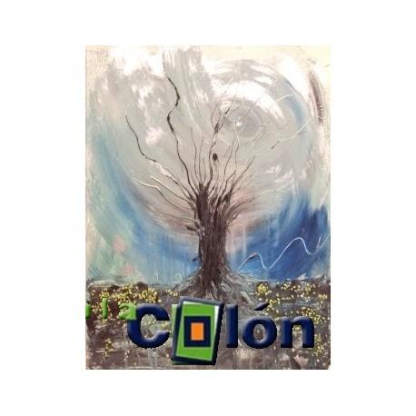 Óleo árbol M. Velasco