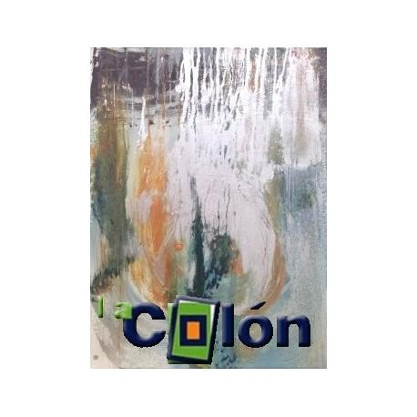 Acrílico abstracto M. Velasco