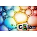 Lámina burbujas de colores