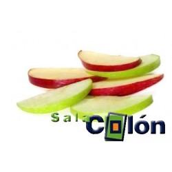 Lámina porciones de manzana