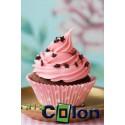 Lámina Cupcake rosa