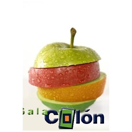 Lámina composición de manzana