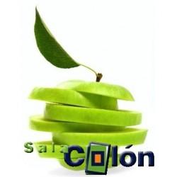 Lámina composición de manzana verde