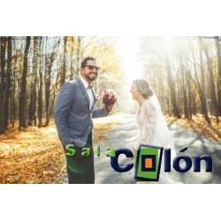 Lámina recien casados