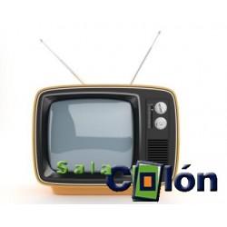 Lámina televisor antiguo