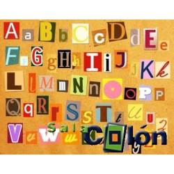 Lámina abecedario