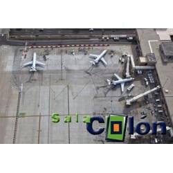 Lámina aviones comerciales