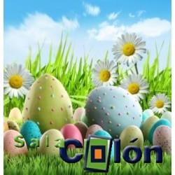 Láminas huevos pintados