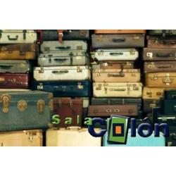Lámina maletas antiguas