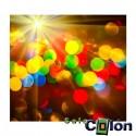 Lámina Circulos de colores con destello