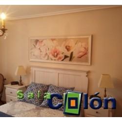 Cuadro floral dormitorio