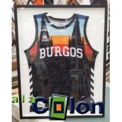 Enmarcado camiseta de baloncesto