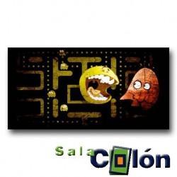 Caricatura videojuego Pac-Man 2